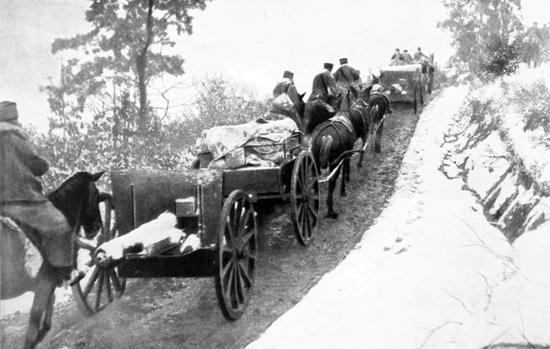povla č enju, novembra 1915. (R. Marjanovi ć )